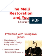 history essay on meiji restoration samurai rebellions the meiji restoration