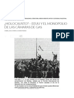 ¿Holocausto_ – EEUU y El Monopolio de Las Cámaras de Gas _ Paginasarabes
