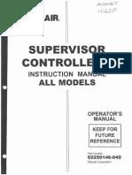 Sullair Supervisor Controller Manual - 02250146-049