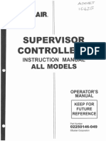 Sullair Supervisor Controller Manual - 02250146-049
