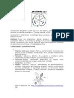 informe de las familias vegetales de importancia agronomica