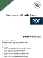 1 - Treinamento - MikroTik Básico