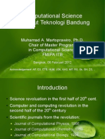Computational Science at ITB