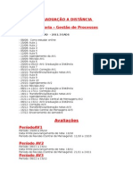 Diretrizes Graduaçao a Distancia 20113 Semestral