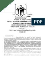 "INFORME USAER 107 Escuela Primaria ""Centenario de Ecatepec"""