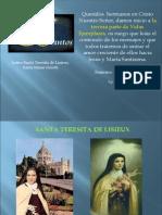 Santa Teresita de Lisieux y Santa Maria Goretti