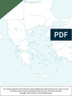 Mapa Mudo Hélade