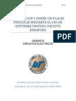 Elaboracion y Diseño de Placas Fenolicas Mediante El Uso de Software Proteus