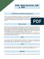 Soa Web Services, Ejb, Net
