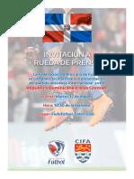 Rueda de Prensa Fedofutbol