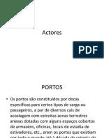 Actores Pilotagem 2012