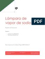 Informe Lampara Vapor de Sodio