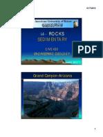 Rocks Sedimentary (III)