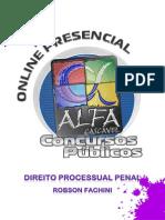 Exercícios - Processual Penal - 1 Encontro