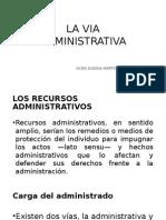La via Administrativa