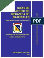 Laboratorio de Mecancia de Materiales
