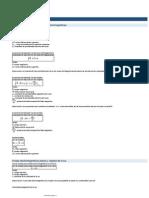 Formulas Certamen mat 024