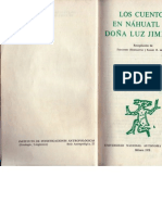 Los cuentos de náhuatl de doña Luz Jiménez