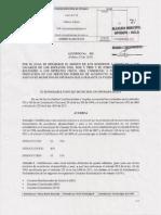 Proyecto de Acuerdo No 002  ( 25 de Febrero  de 2015 )