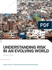 Understanding Risk in an Evolving World - Policy Note