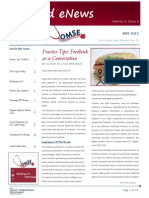 Med/Ed eNews v3 No. 06 [MAY 2015]