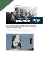 Advertising Furious 7