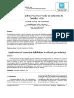 Aplicação de InAplicação de inibidores de corrosãoibidores de Corrosão Na Indústria de Petróleo e Gás