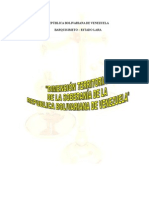 Dimension Territorial de La Soberania de Venezuela