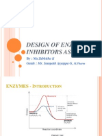 Design of Enzyme Inhibitors as Drugs