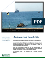 Commentary, Naval, Construction,  Projects,   December, 2009, DPP, Ship Building, Ships, Corvette, Frigate, Destroyer, MCMV, Indian, India, Navy, Religare, Strategic, Advisory, consulting, report