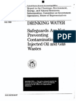 1989 Report on Class II Injection Wells