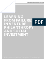 Learning From Failures EVPA 2015 report