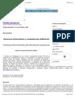 BARRON MARIA-Docencia universitaria y competencias didácticas