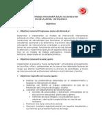 Plan de Trabajo Programa Aulas de Bienestar