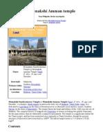 Meenakshi Amman Temple_English