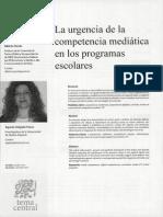 Competencia mediática caso español e italiano