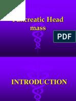Pancreatic Mass
