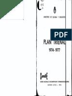 Plan Trienal