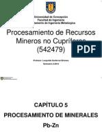 Capitulo 5-Procesamiento de Pb-Zn