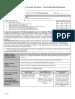 educ 302 unit plan lesson 5 (outdoor observation)