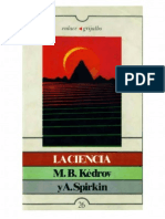 Kedrov y Spirkin - La Ciencia