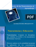Aportes de La Neurociencia Al Aprendizaje Nuevo (1)