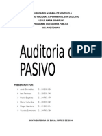 Audioria Del Pasivo