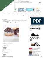 BASILICO - Cupcake de maracujá com gengibre