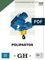Catalogo Polipastos Cas