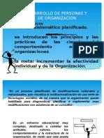 Desarrollo de Personas y de Organizacion
