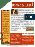 Shakespeare - Romeo and Juliet -Intermediate