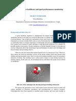 M Lactate Sensor for Healthcare and Sport Performances Monitoring P Blondeau