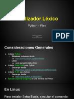 Lenguajes de Programación - Python - Plex