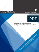 Engineering Postgraduate Brochure 2015